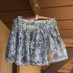 H&M paisley mini skirt